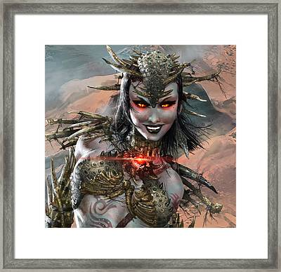 Duels Of The Planeswalkers 2014 Persona Ten Framed Print by Ryan Barger