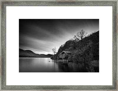 Duke Of Portland Boathouse Framed Print by Dave Bowman