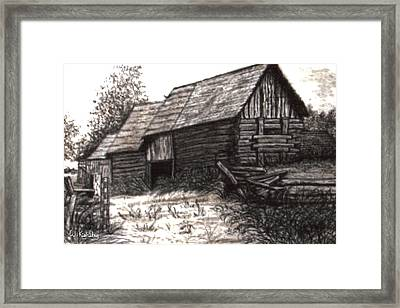 Dunchurch Farm Framed Print by Wanda Kightley