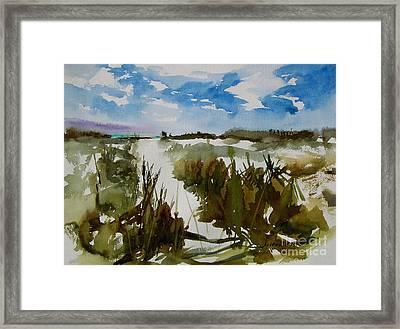 Dunes Framed Print by Julianne Felton
