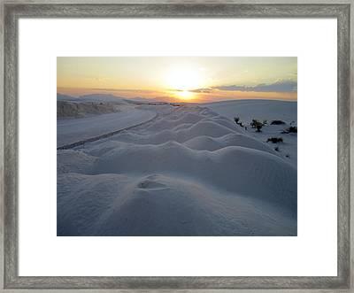 Dunes Of Mystique Framed Print by Mike Podhorzer