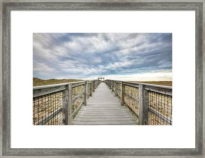 Dunescape Framed Print by Eric Gendron