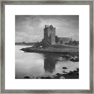 Dunguaire Castle - Ireland Framed Print by Mike McGlothlen