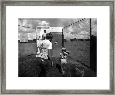 Dunking Booth Framed Print by Retro Images Archive