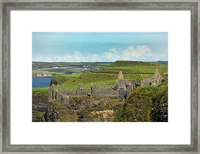 Dunluce Afternoon Ireland Framed Print by Betsy C Knapp