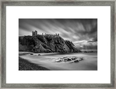 Dunnottar Castle 2 Framed Print by Dave Bowman