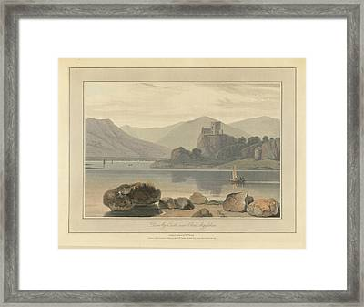 Dunolly Castle Near Oban Framed Print by British Library
