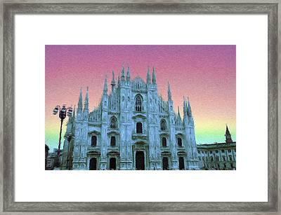 Duomo Di Milano Framed Print by Jeff Kolker