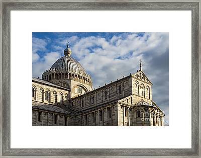 Duomo Of Pisa Framed Print by Prints of Italy