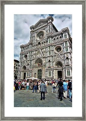Duomo Of Florence Framed Print by Allen Beatty