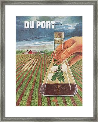 Dupont And Agricultural Research Framed Print by Hagley Museum And Archive