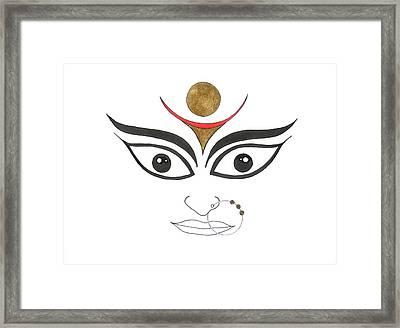 Durga IIi Framed Print by Kruti Shah