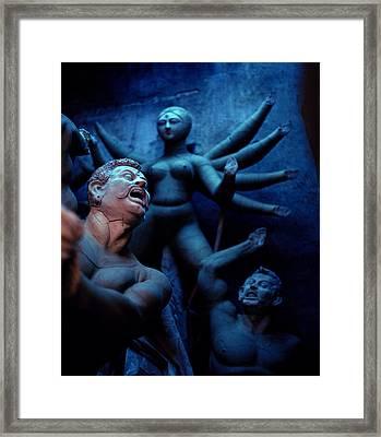 Durga's Dream Framed Print by Shaun Higson