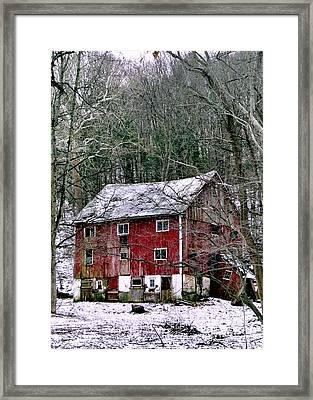 Dusting Framed Print by Michael Hoard