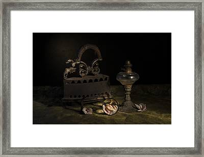 Dusty Things Framed Print by Raffaella Lunelli