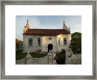 Dutch Reformed Church, C.1755, Seen Framed Print by Panoramic Images