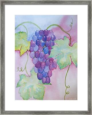 D'vine Delight Framed Print by Heidi Smith