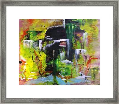 Dwelling Framed Print by Karen Lillard
