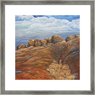 Dwelling Place Of The Spirits Framed Print by Caroline Street