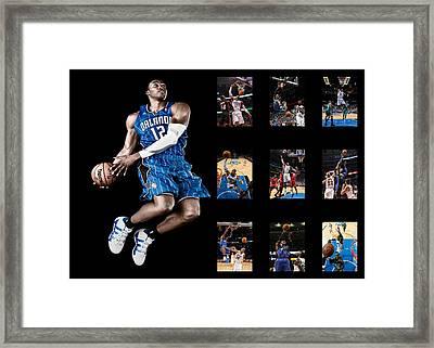 Dwight Howard Framed Print by Joe Hamilton