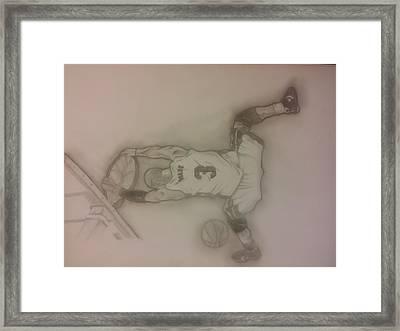 Dwyane Wade  Framed Print by Manny