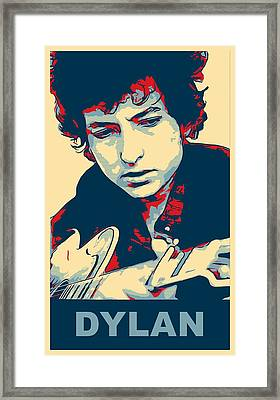 Dylan Framed Print by Dan Sproul