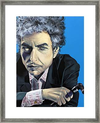 Dylan Framed Print by Kelly Jade King