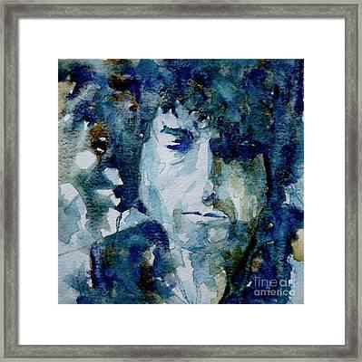 Dylan Framed Print by Paul Lovering