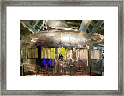 Dymaxion House Framed Print by Jim West