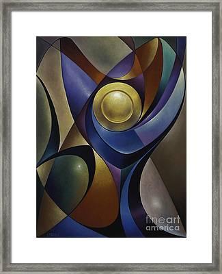 Dynamic Chalice Framed Print by Ricardo Chavez-Mendez