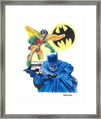 Dynamic Duo Framed Print by Peter Melonas