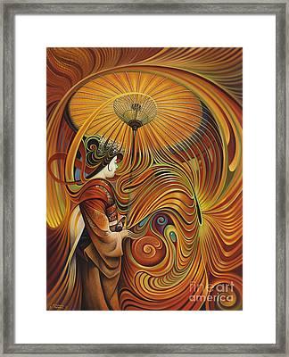 Dynamic Oriental Framed Print by Ricardo Chavez-Mendez