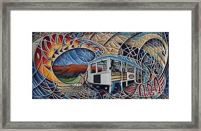 Dynamic Route 66 II Framed Print by Ricardo Chavez-Mendez