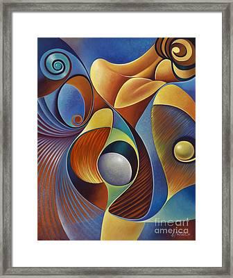 Dynamic Series #22 Framed Print by Ricardo Chavez-Mendez