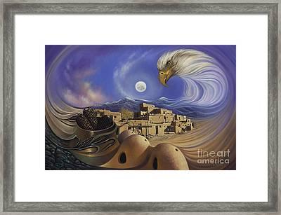 Dynamic Taos Ill Framed Print by Ricardo Chavez-Mendez