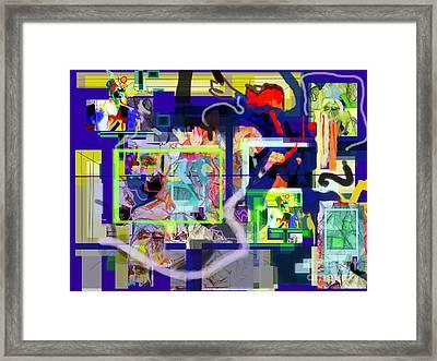Each Positive Step Is Vital 10 Framed Print by David Baruch Wolk
