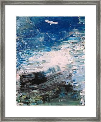 Eagle Framed Print by Fabrizio Cassetta