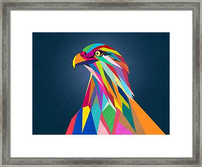 Eagle Framed Print by Mark Ashkenazi