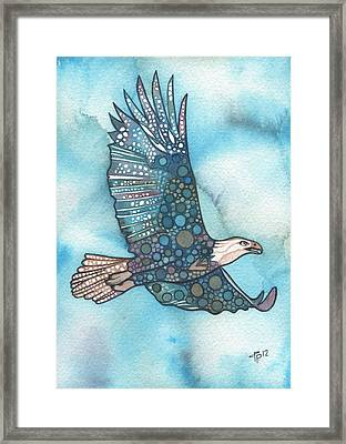 Eagle Framed Print by Tamara Phillips