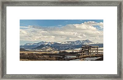 Eagles Nest Framed Print by Daniel Hebard