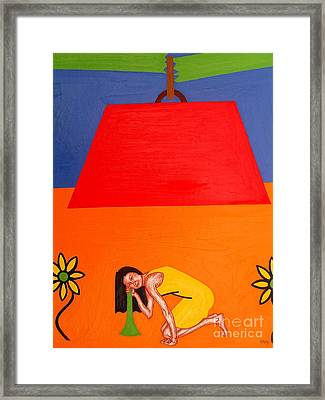 Ear To The Ground Framed Print by Patrick J Murphy
