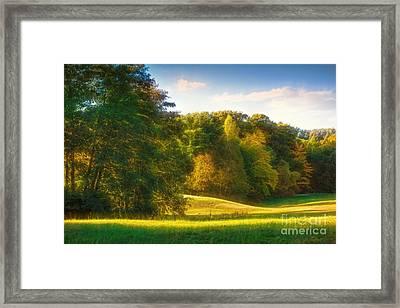 Early Autumn Glow Framed Print by Lutz Baar