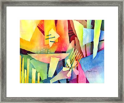 Early Bloomers Framed Print by Hailey E Herrera