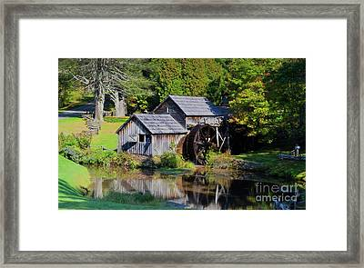 Early Fall Framed Print by Kathleen Struckle