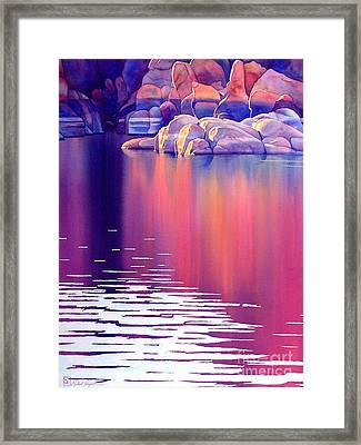 Early Light Framed Print by Robert Hooper