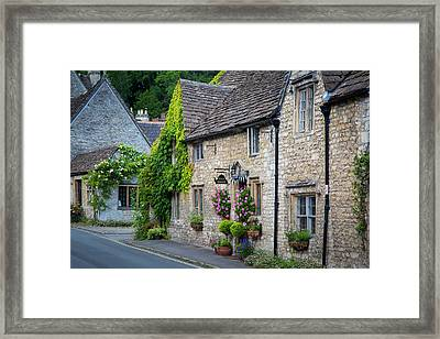 Early Morning Along The High Street Framed Print by Brian Jannsen