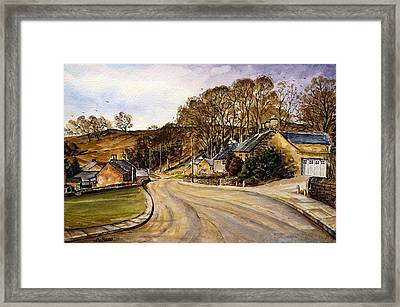 Early Morning In The Countryside Framed Print by Andrew Read