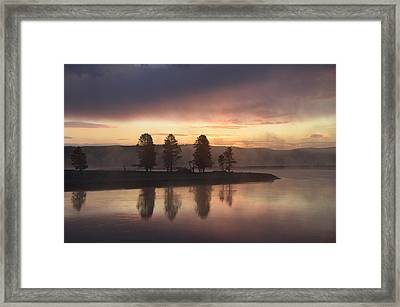 Early Morning In The Valley Framed Print by Tranquil Light  Photography