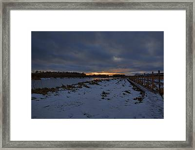Early Morning January 2015 Framed Print by Leif Sohlman