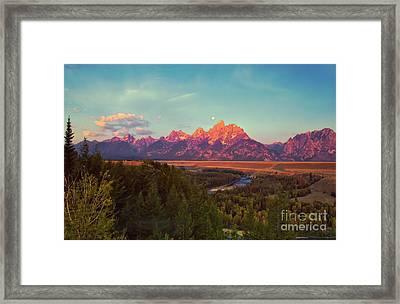 Early Morning Light Framed Print by Robert Bales